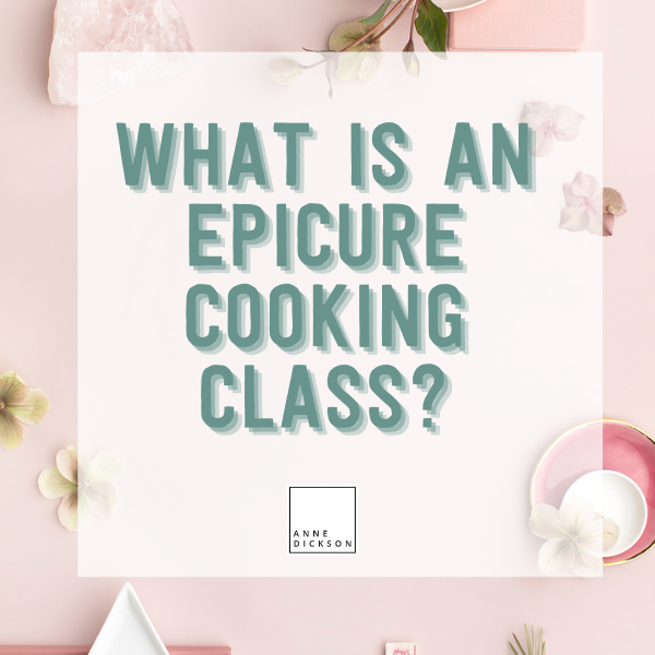 What is an Epicure Cooking class?