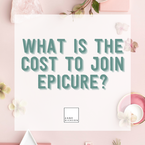 What is the cost to join Epicure?