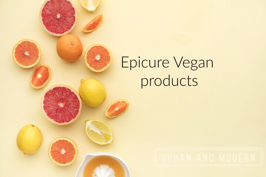 Epicure Vegan Products 1