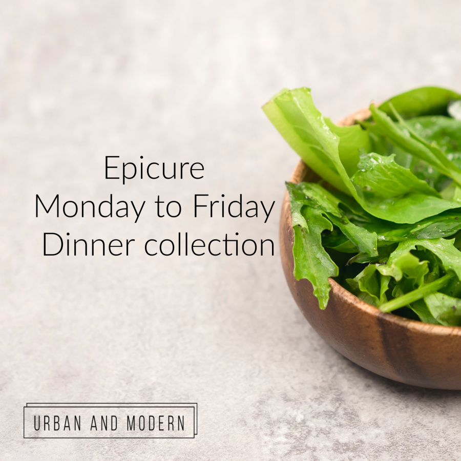 epicure monday to friday dinner collection
