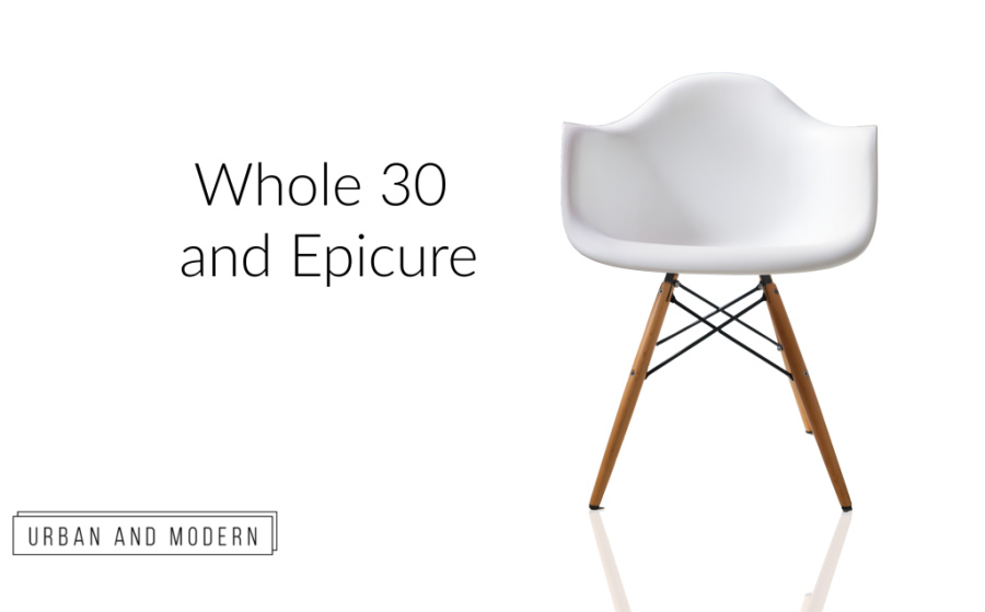 Whole 30 and Epicure