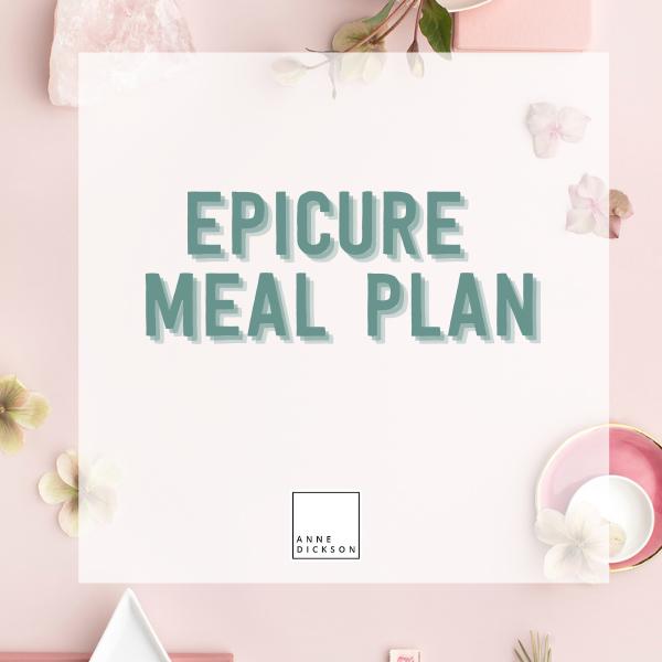 Epicure Meal Plan