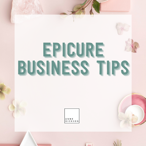 Epicure Business Tips