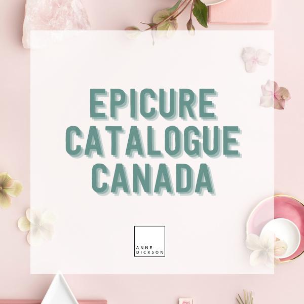 Epicure Catalogue Canada