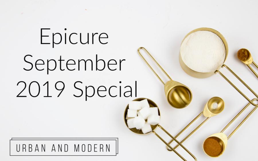Epicure September 2019 Special