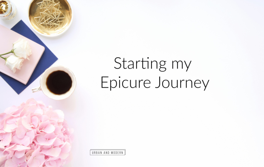 Starting my Epicure Journey 1