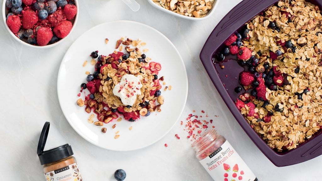 Epicure Steamer Oatmeal, epicure breakfast ideas