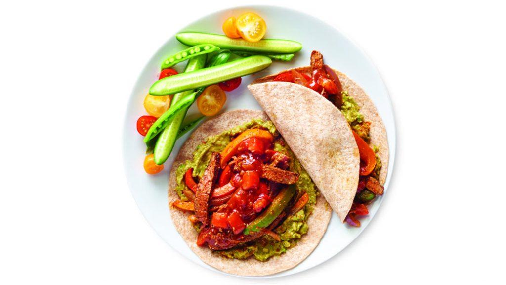 Epicure Fajitas, epicure meal ideas