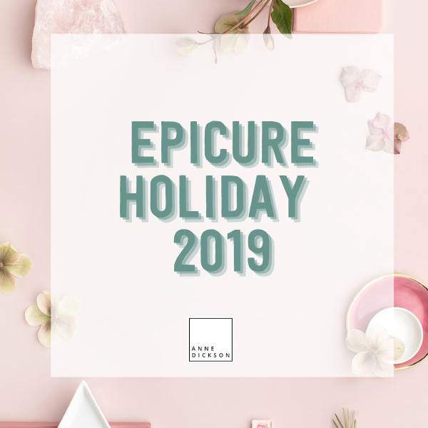 Epicure Holiday 2019