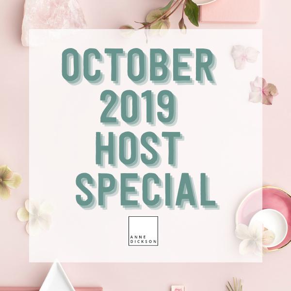 October 2019 Host Special