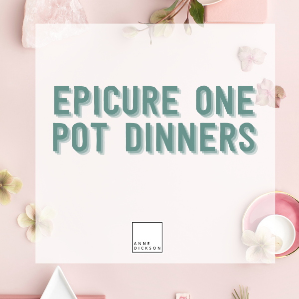 Epicure One Pot Dinners