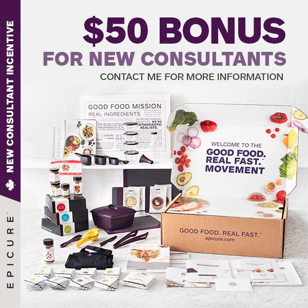 Epicure Consultant Sign up Special 1