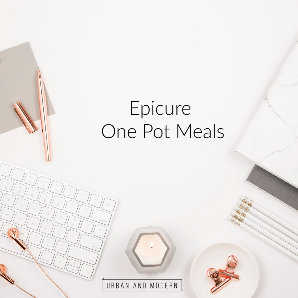 Epicure One Pot Meals