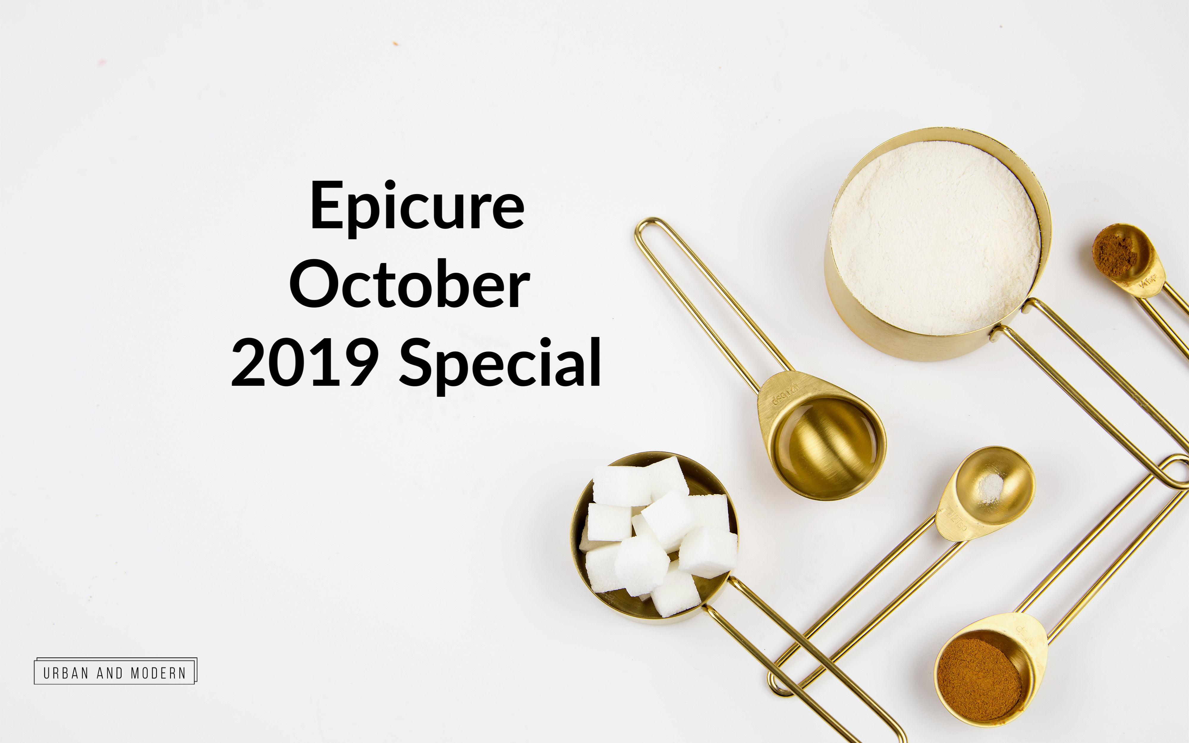 Epicure October 2019 special
