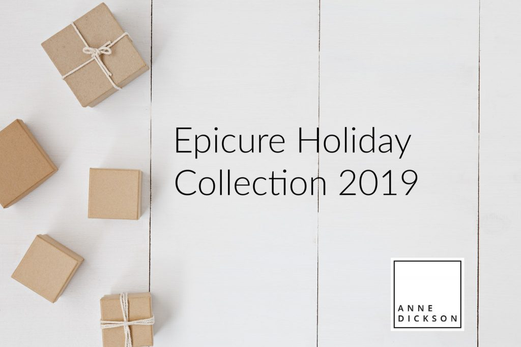 Epicure Holiday Collection 2019,epicure holiday items