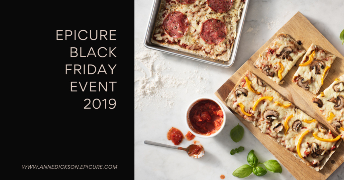 Epicure Black Friday 2019