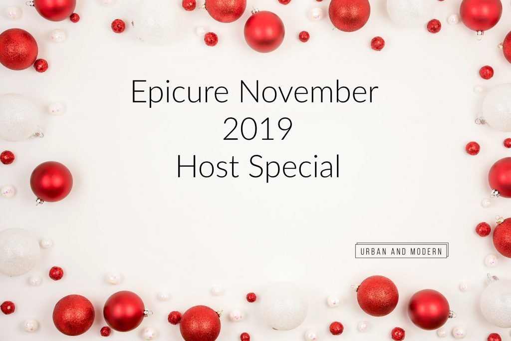 Epicure November 2019 Holiday Special