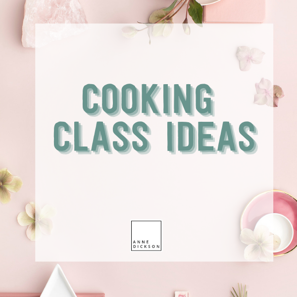 Epicure Cooking Class Ideas