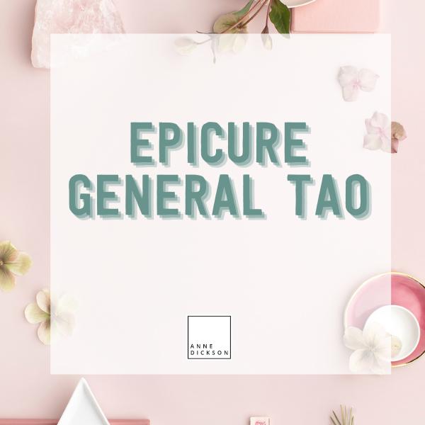 Epicure General Tao