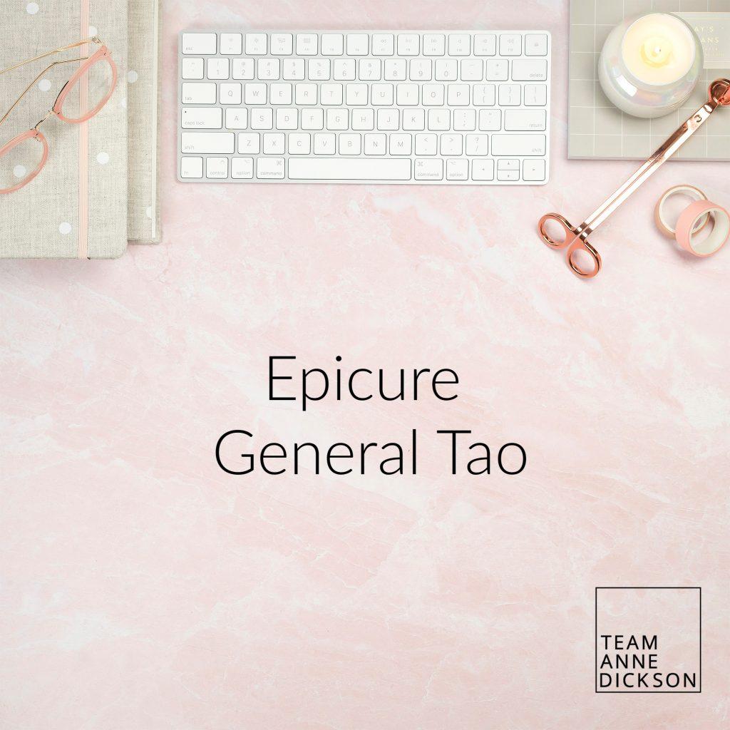 Epicure General Tao 1