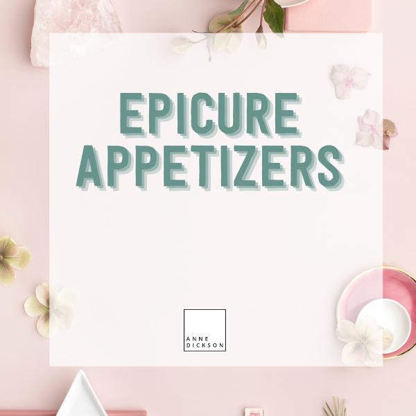 Epicure appetizers
