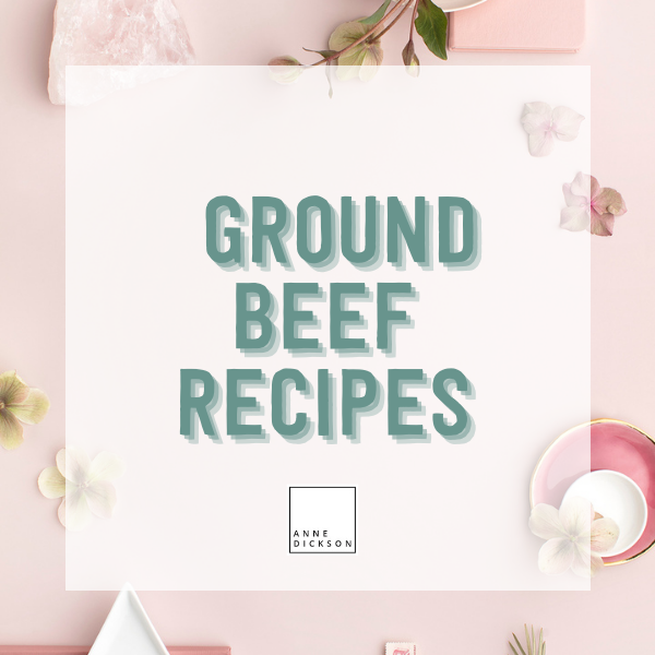 Epicure Ground Beef Recipes