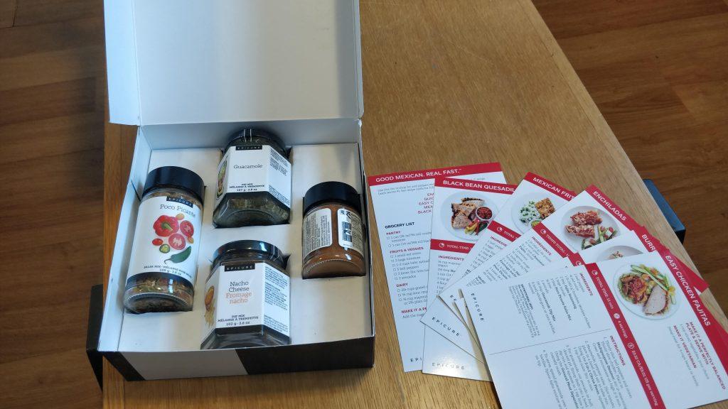 epicure meal kit