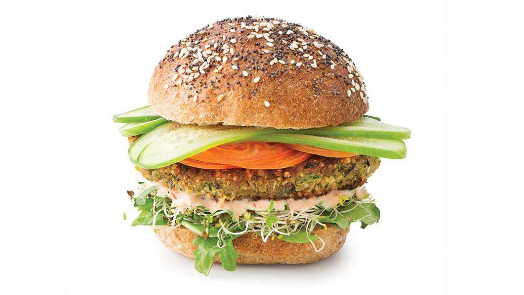 Epicure veggie burger