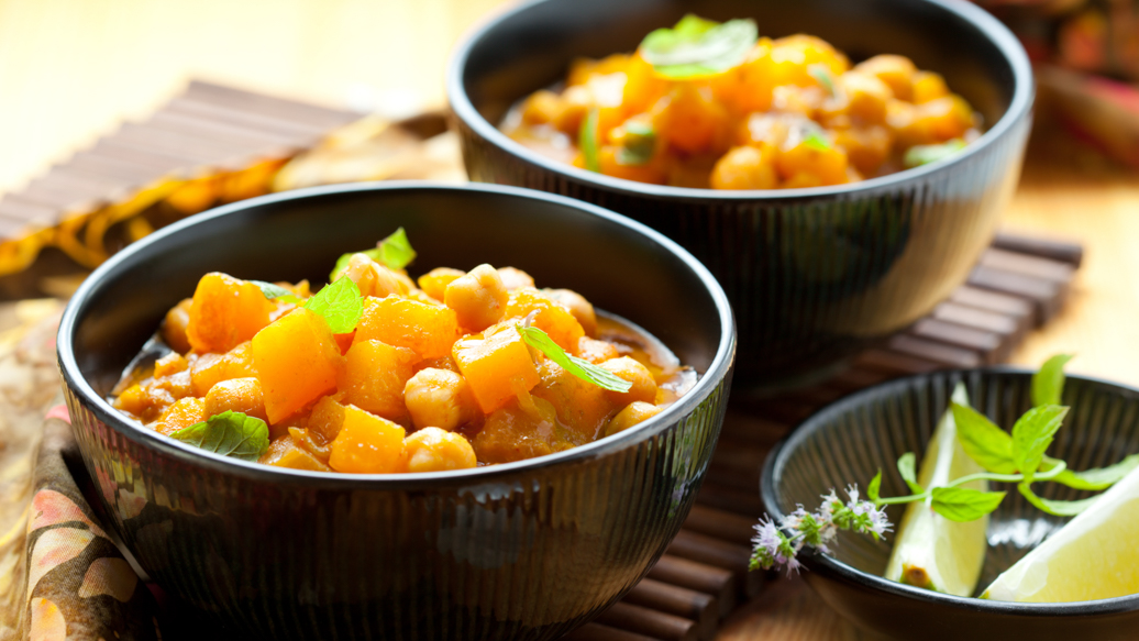 curied chickpea stew