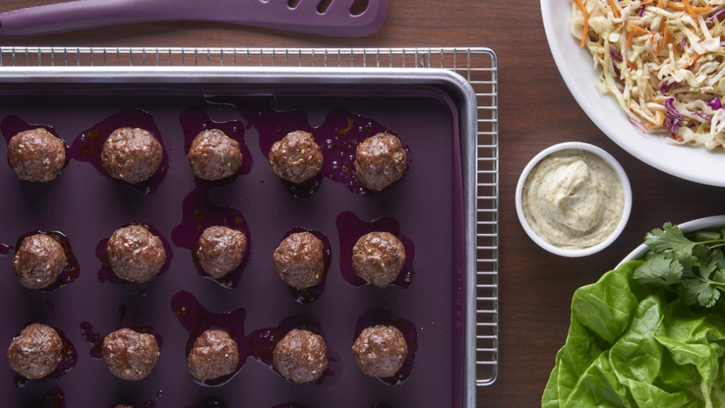 sheet pan meatballs