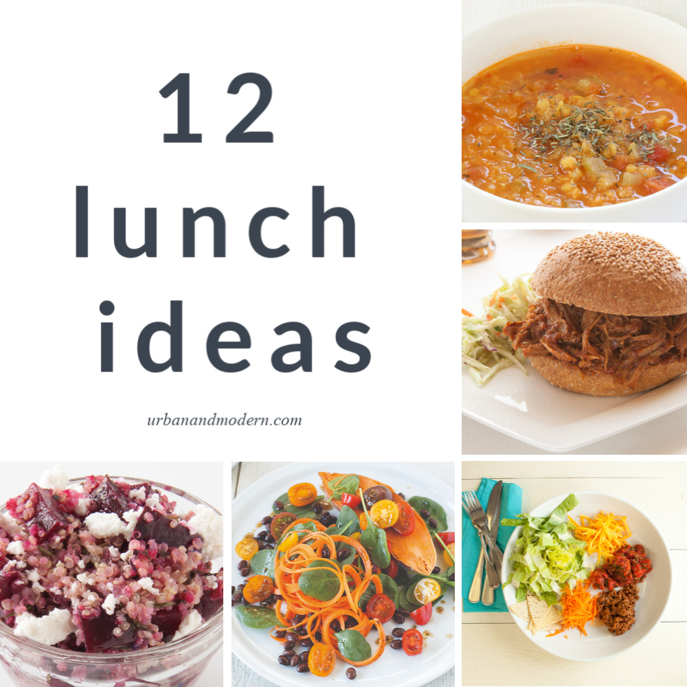 12 Lunches to make at home