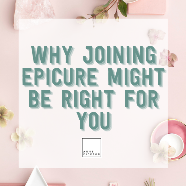 Why joining Epicure might be right for you