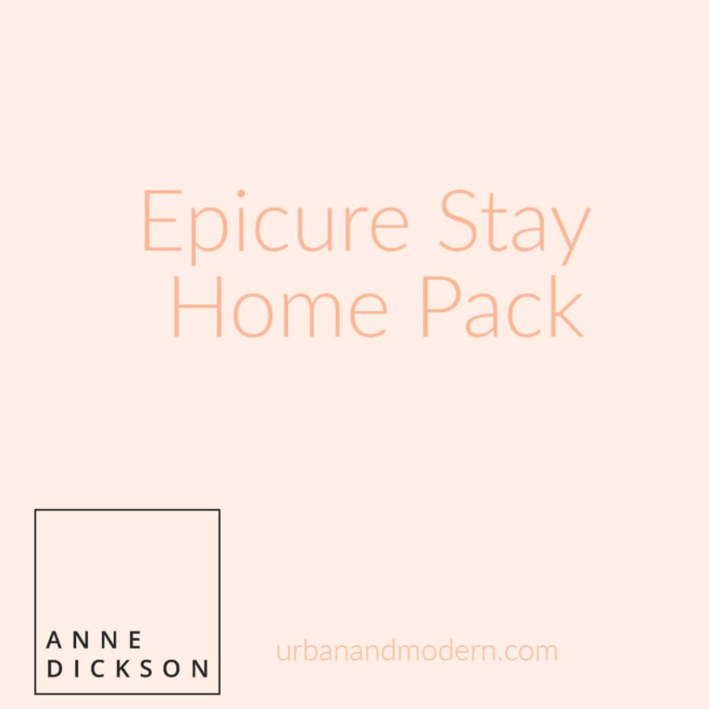Epicure stayhome pack