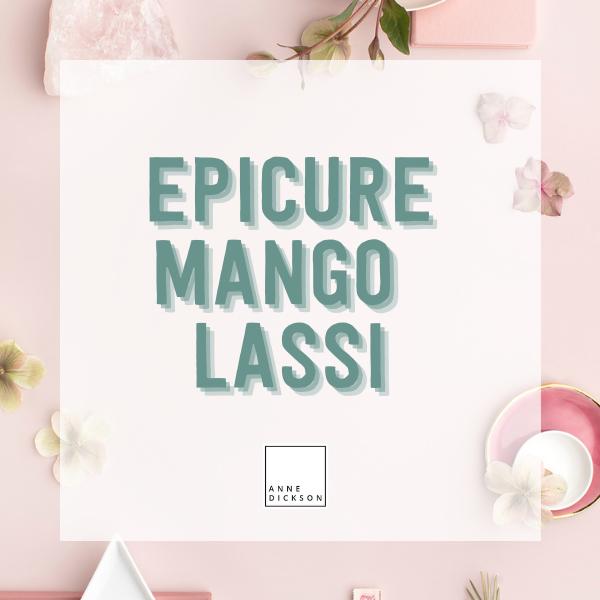 Epicure Mango Lassi