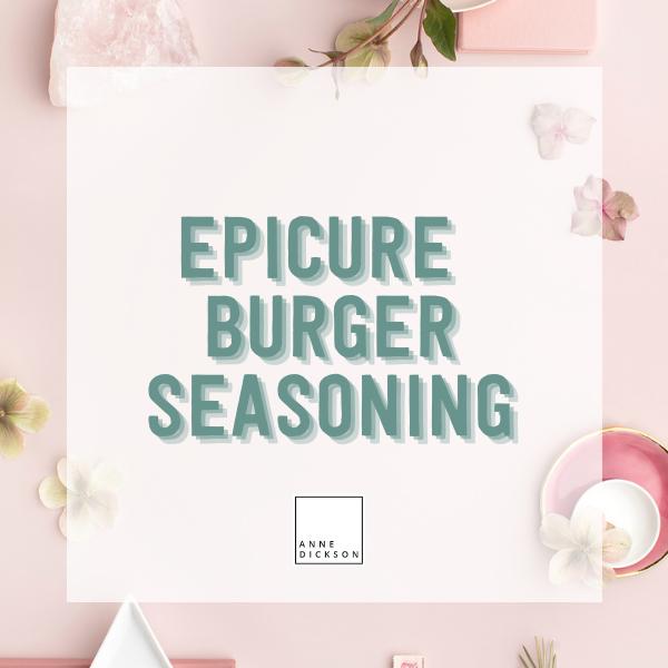 Epicure Burger Seasoning