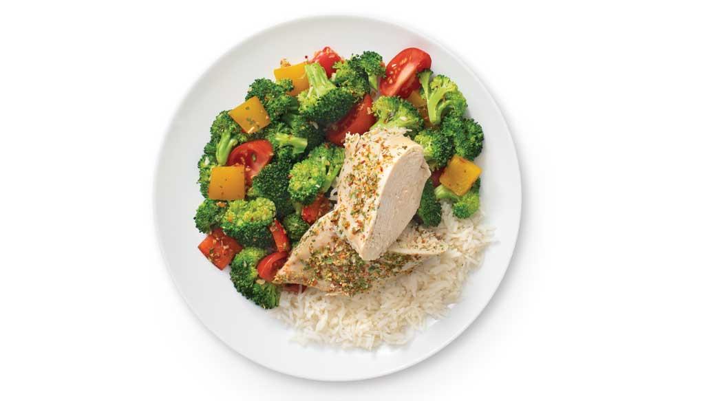 Greek Chicken & Veggies