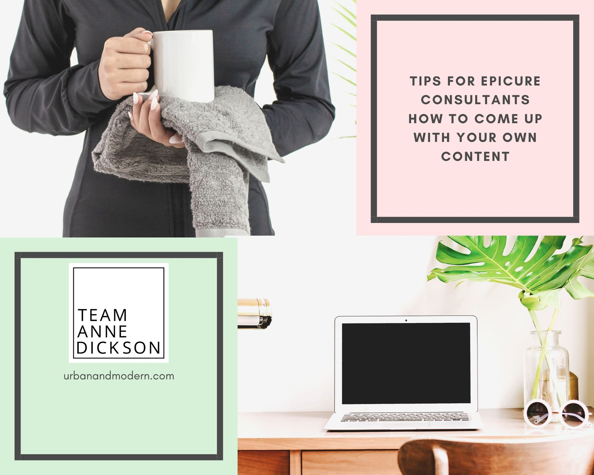 Tips for Epicure Consultants – how to come up with social media ideas