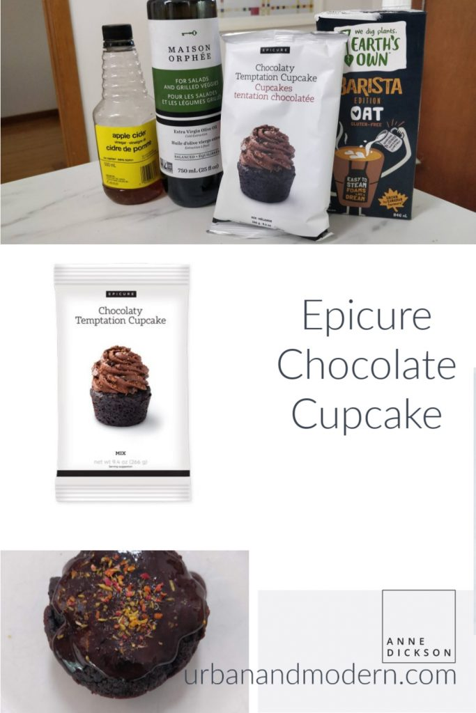 epicure chocolate cupcake