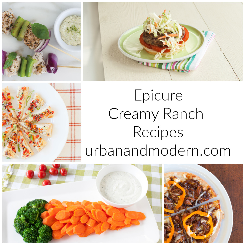 Epicure creamy ranch recipes