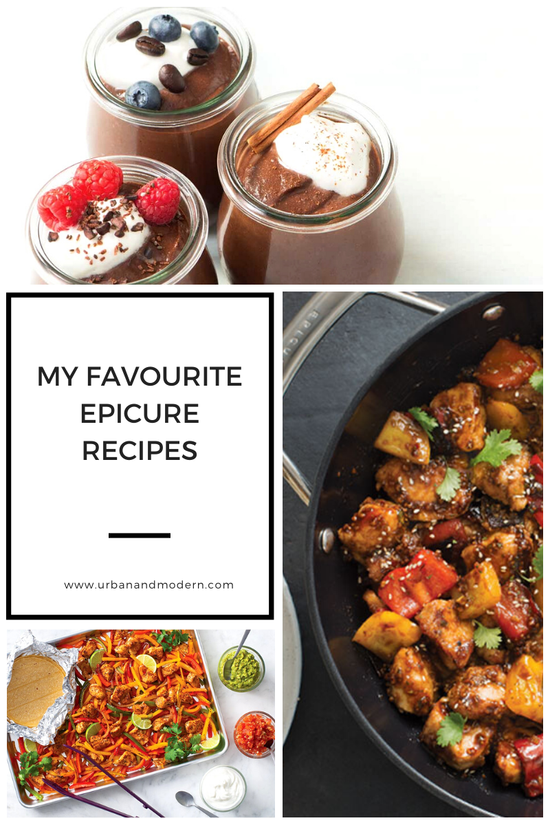 My favourite Epicure Recipes