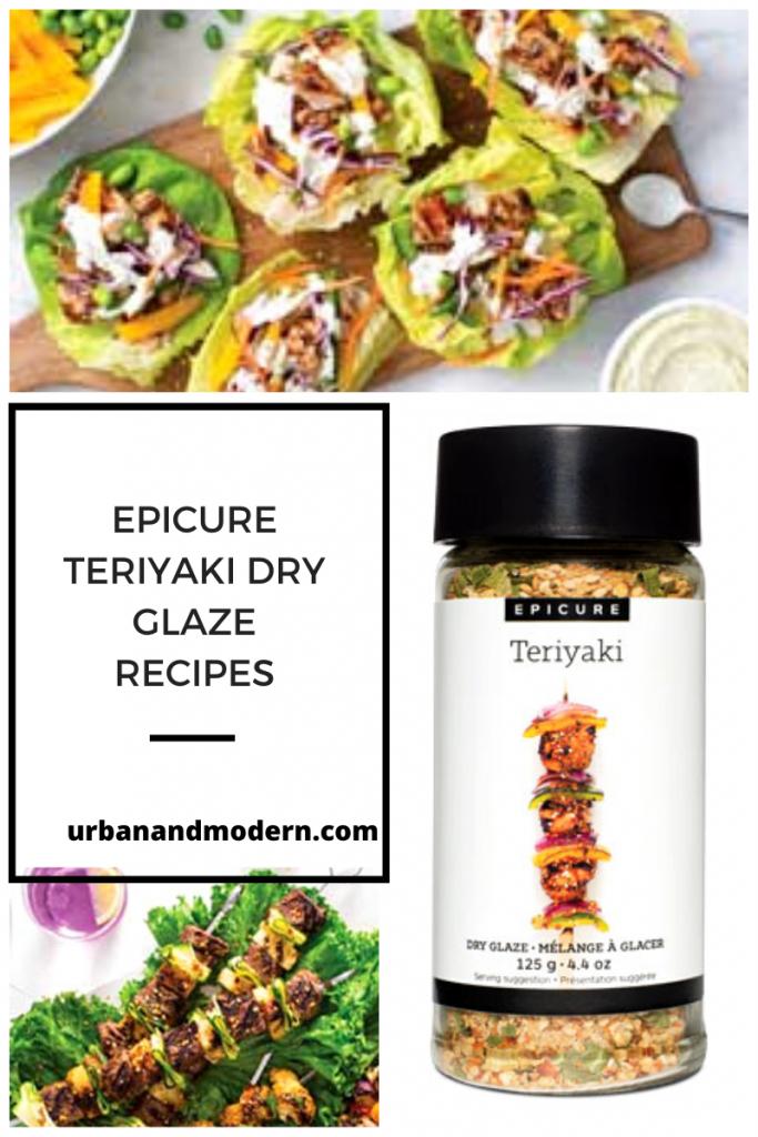 Epicure Teriyaki Dry Glaze 3