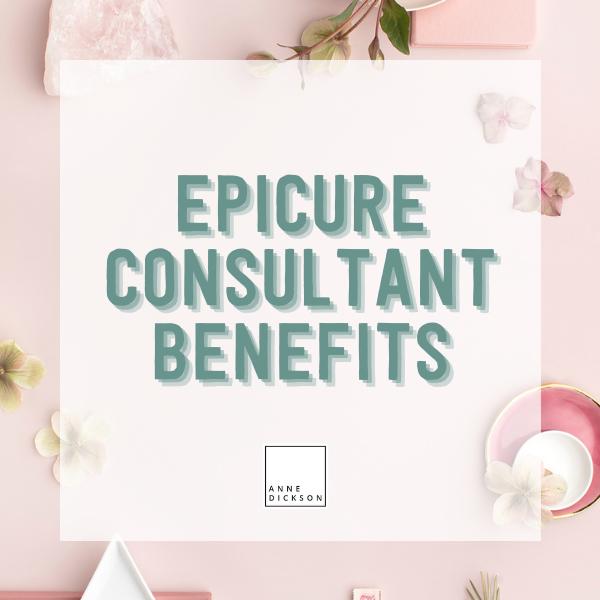 Epicure Consultant Benefits
