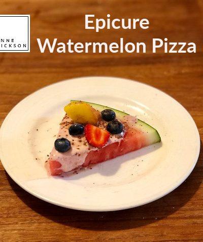 Epicure Watermelon Pizza