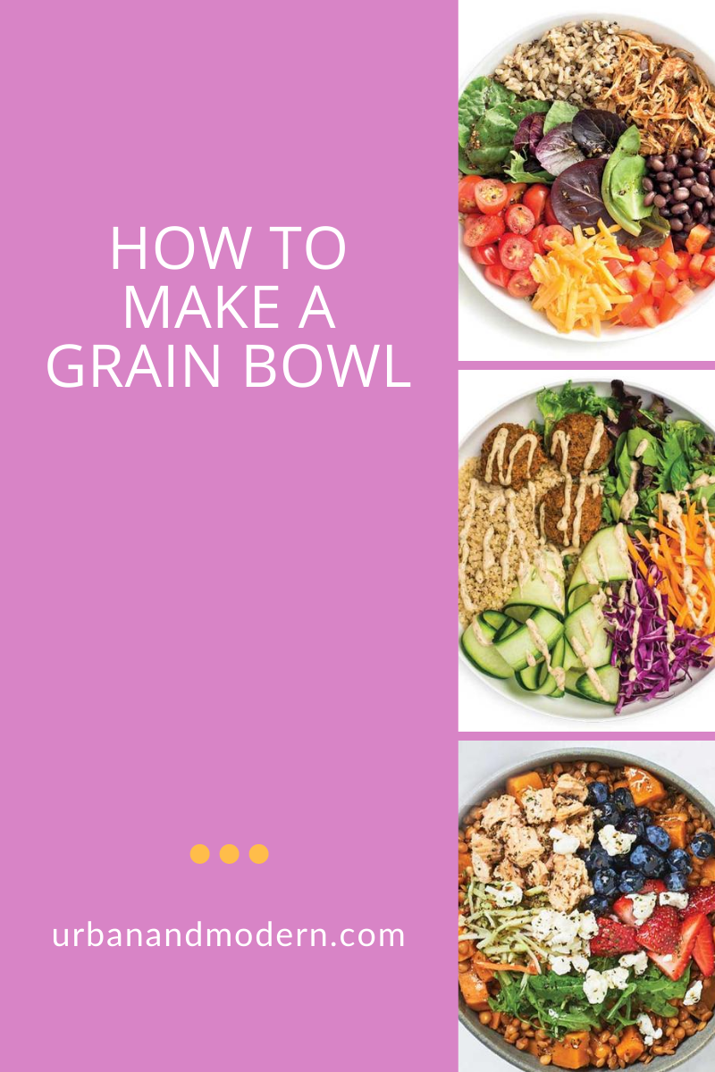 Build an easy grain bowl