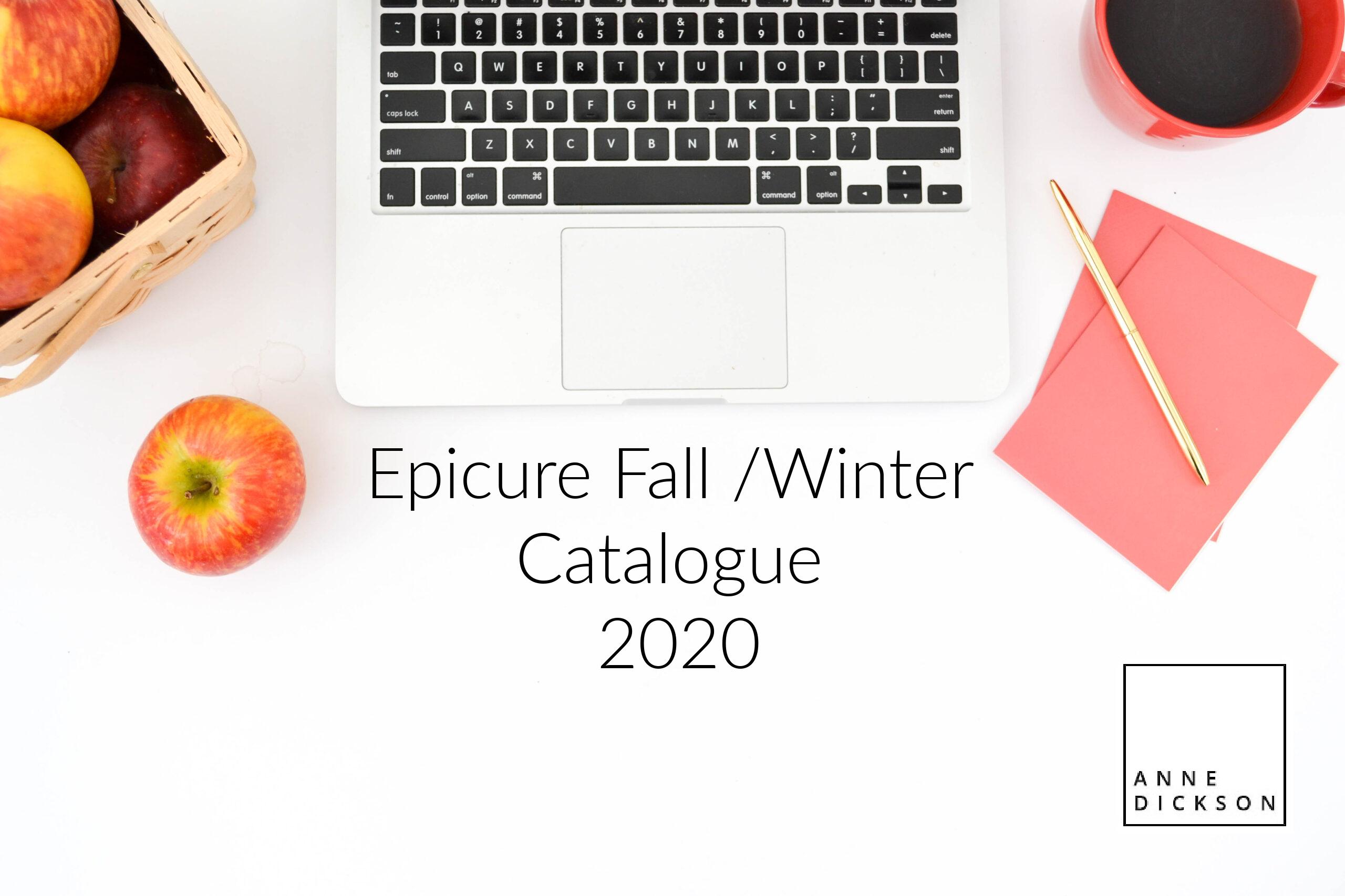 Epicure Fall Catalogue