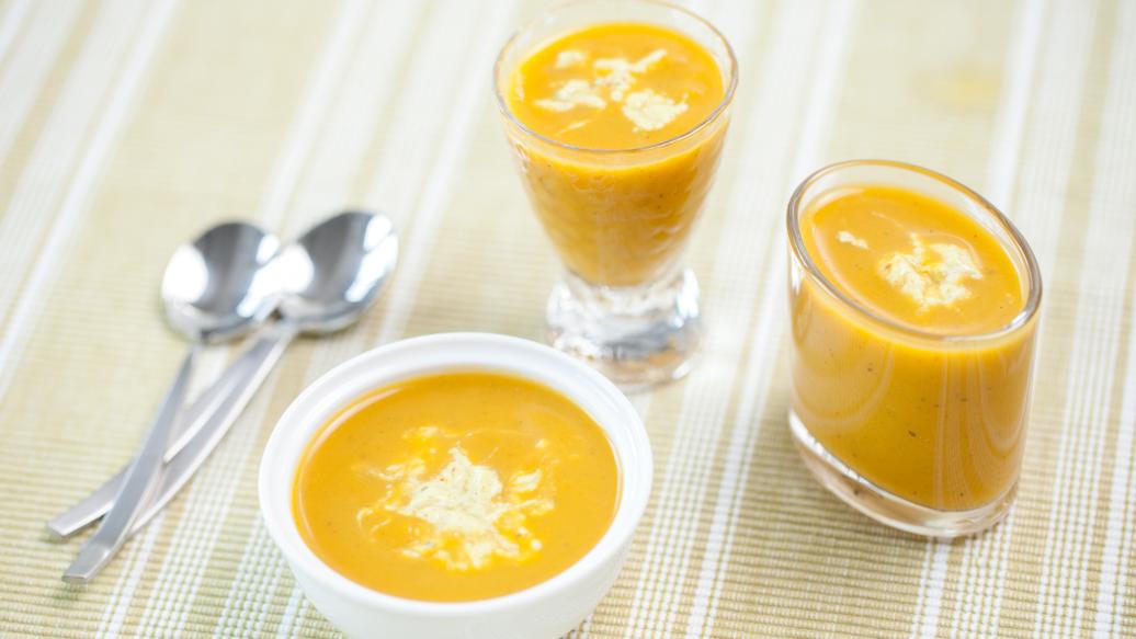 Mango Curry Squash Soup