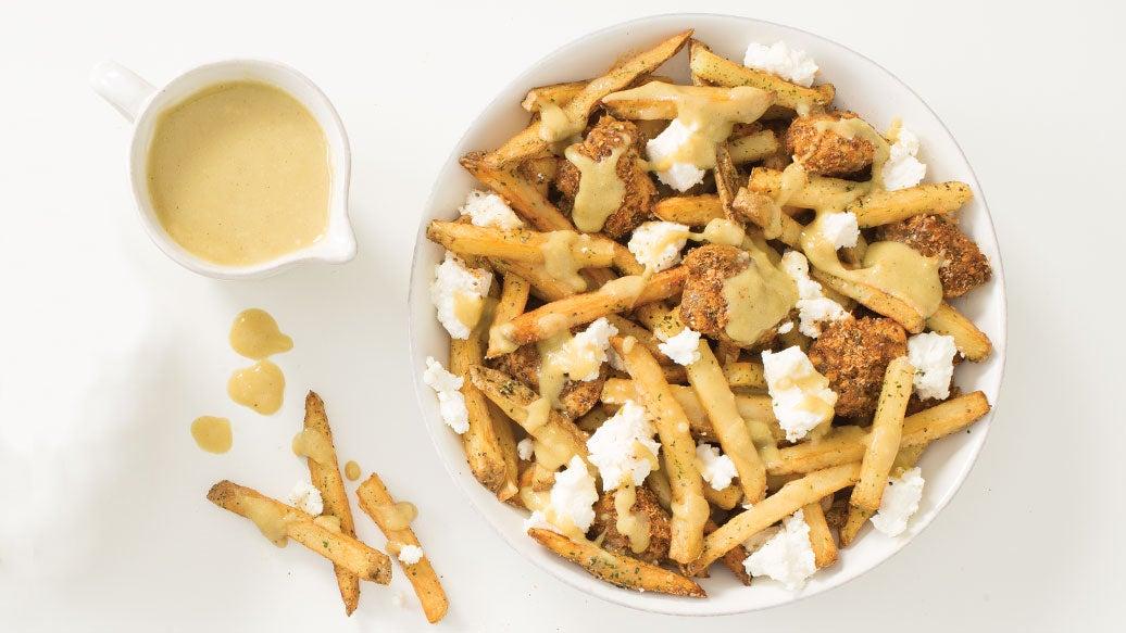 Popcorn Chicken Poutine