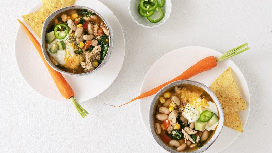 Santa Fe Chicken & White Bean Soup