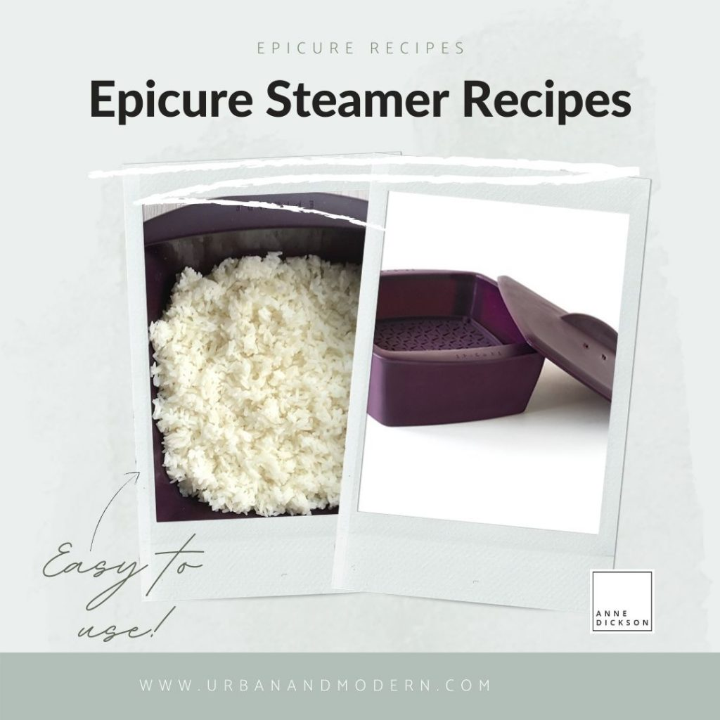 Epicure Steamer Recipes -More! 10