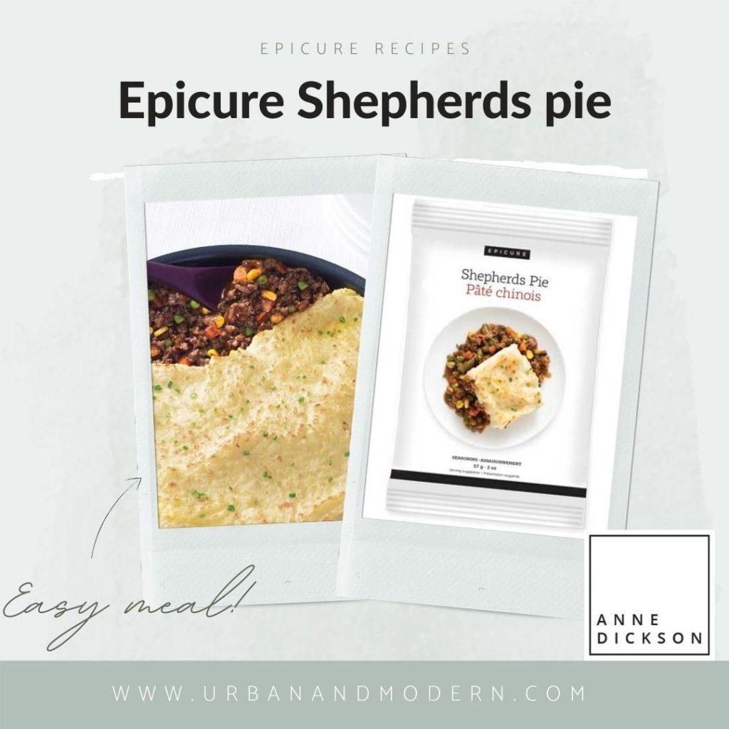 epicure shepards pie